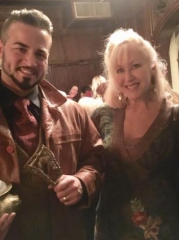 Kustin Fornal and Wendy Stuart Kaplan at The Explorer's Club